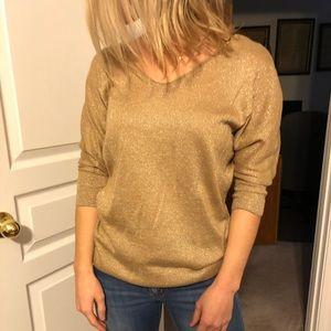 Express Gold Sweater